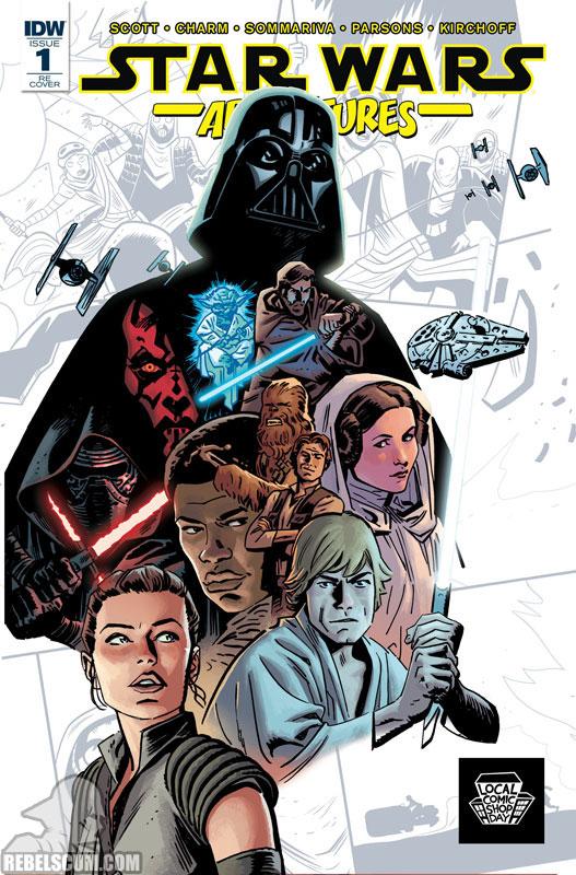 Star Wars Adventures 1 (Chris Samnee Local Comic Shop Day variant)