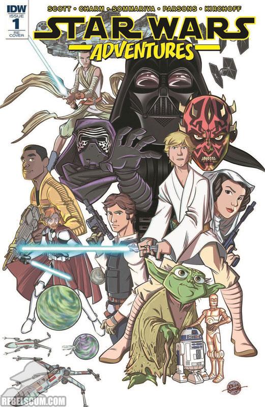 Star Wars Adventures 1 (Eric Jones Retailer Appreciation variant)