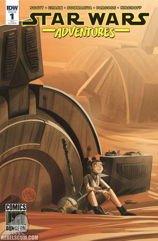 Star Wars Adventures 1 (Mike Maihack Comics Dungeon variant)