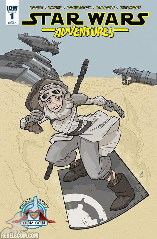 Star Wars Adventures 1 (Craig Rousseau Double Midnight Comics variant)