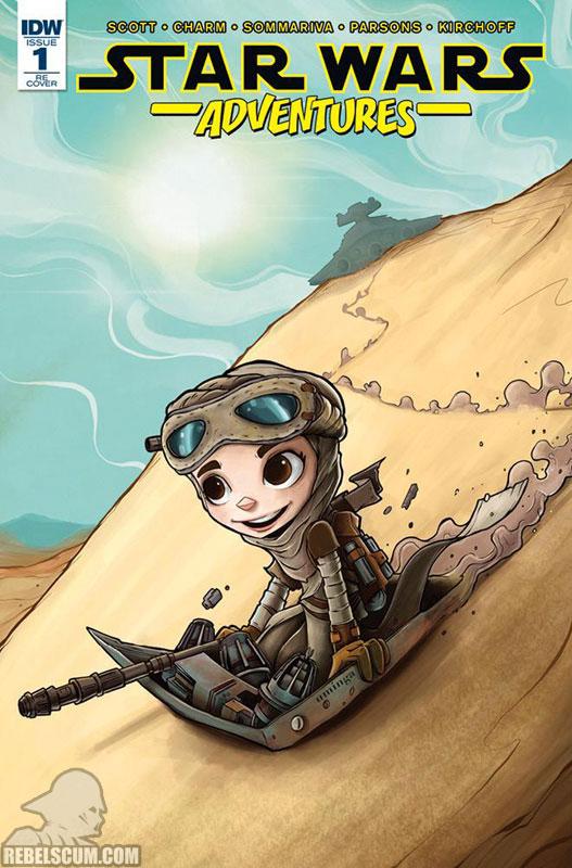 Star Wars Adventures 1 (Chris Uminga Hall of Comics variant)