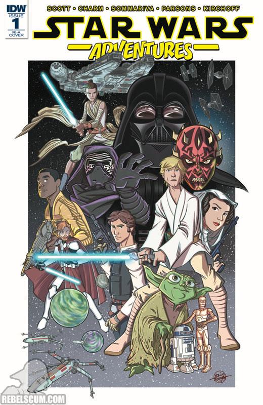 Star Wars Adventures 1 (Eric Jones RI-A variant)