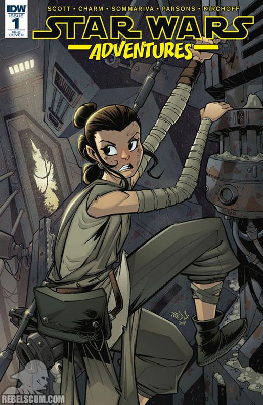 Star Wars Adventures 1 (Jon Sommarvia RI-B variant)