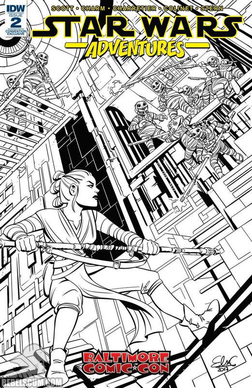 Star Wars Adventures 2 (Elsa Charretier Baltimore Comic Con variant)