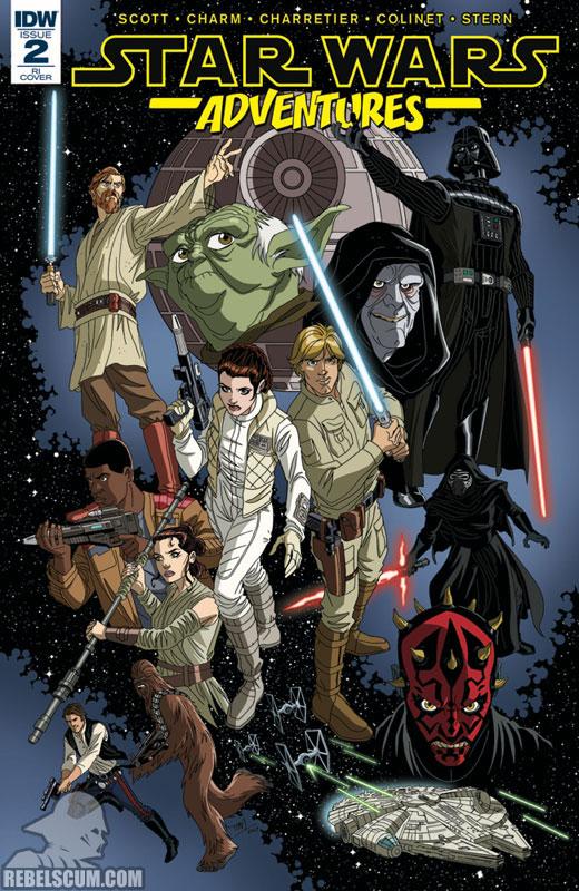 Star Wars Adventures 2 (Tim Levins RI variant)
