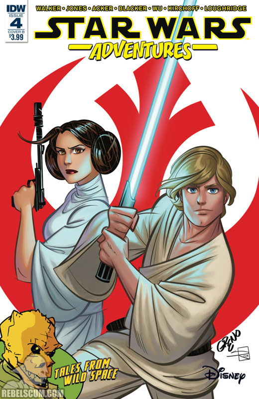 Star Wars Adventures 4 (Nathan Greno variant)