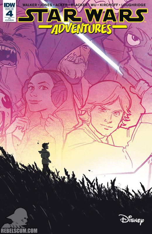 Star Wars Adventures 4 (Annie Wu variant)