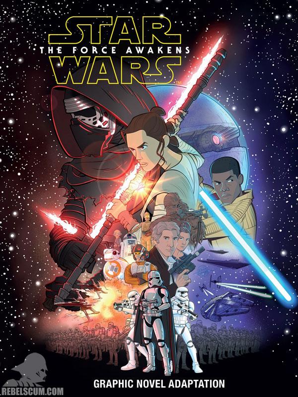 The Force Awakens Graphic Novel Adaptation