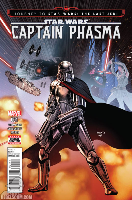 Journey to The Last Jedi – Captain Phasma #1