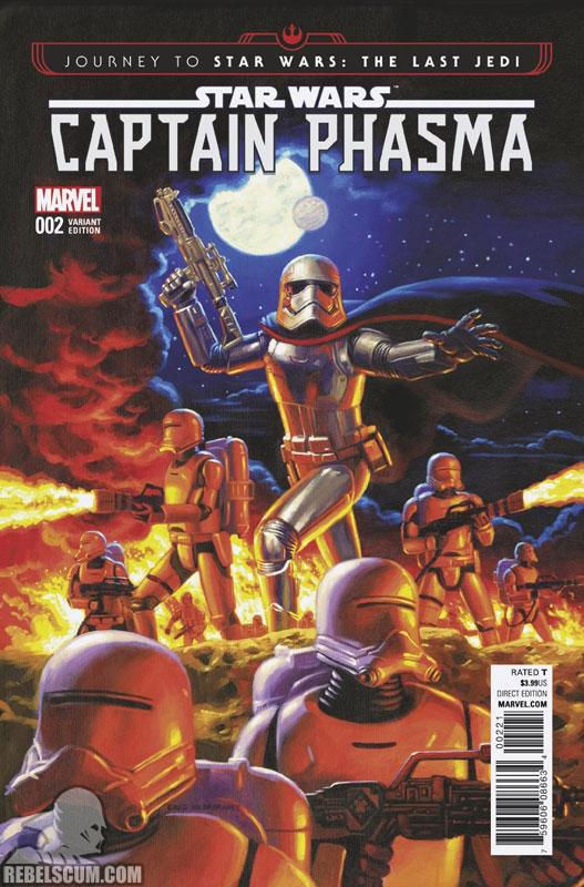 Captain Phasma 2 (Greg Hildebrandt variant)