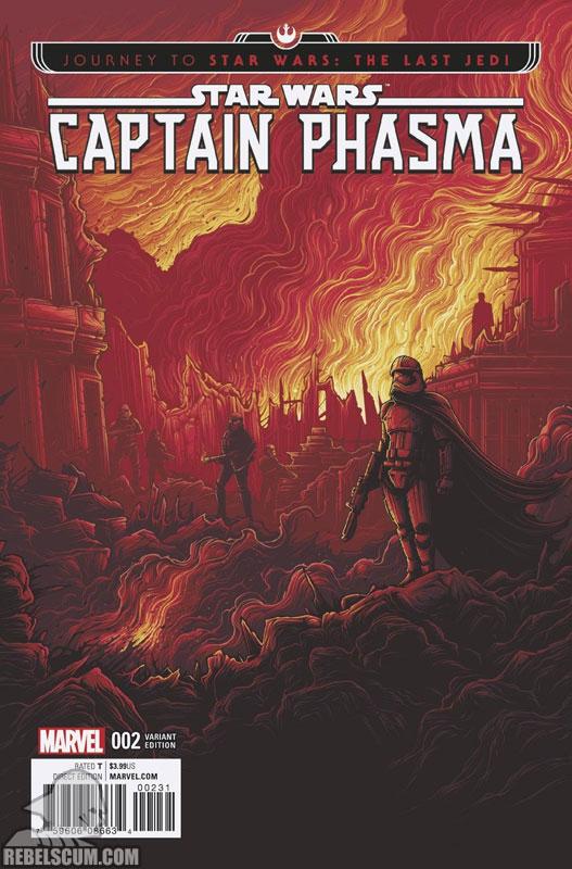 Captain Phasma 2 (Dan Mumford Movie variant)
