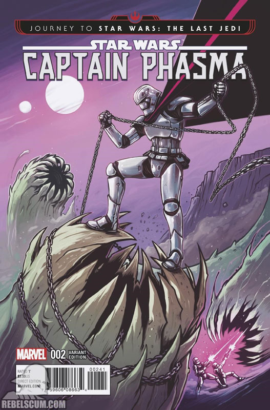 Captain Phasma 2 (Caspar Wijngaard variant)