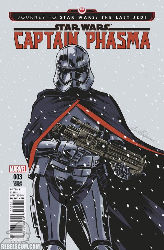Captain Phasma 3 (David Lopez variant)