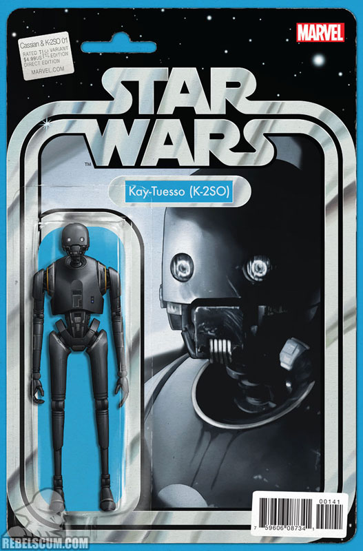 Rogue One – Cassian & K-2SO Special (John Tyler Christopher Action Figure variant)