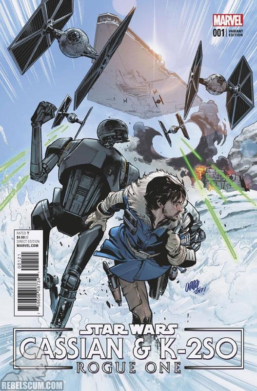 Rogue One – Cassian & K-2SO Special (Pepe Larraz cariant)