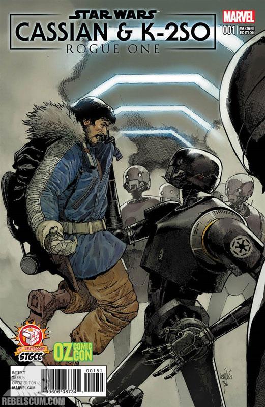 Rogue One – Cassian & K-2SO Special (Lenil Francis Yu variant)