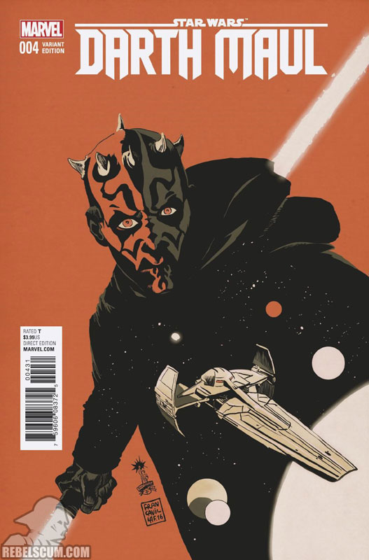 Darth Maul 4 (Francesco Francavilla variant)