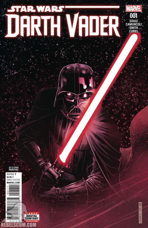 Darth Vader: Dark Lord of the Sith 1 (2nd printing - July 2017)