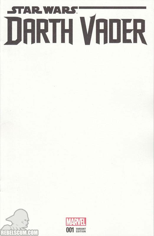 Darth Vader: Dark Lord of the Sith 1 (Blank variant)