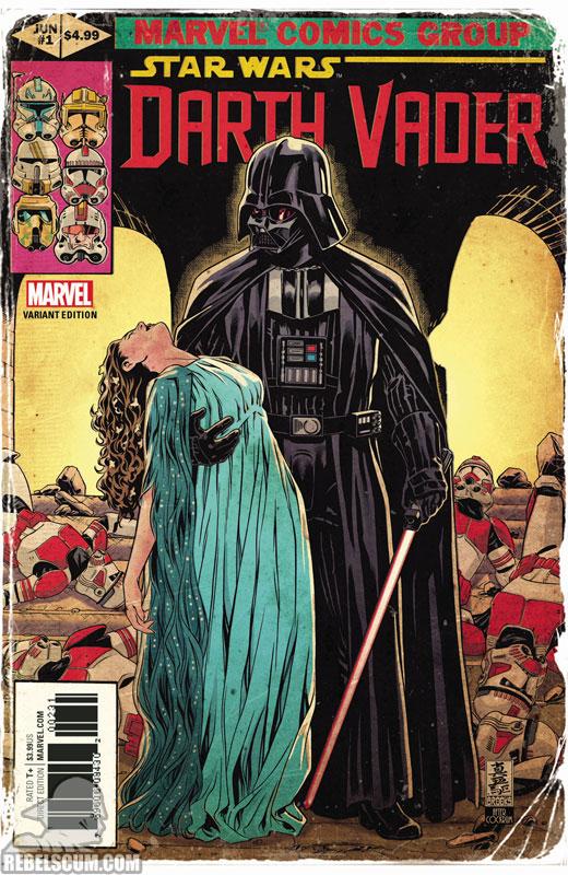 Darth Vader: Dark Lord of the Sith 1 (Mark Brooks Uncanny X-Men 145 homage variant)