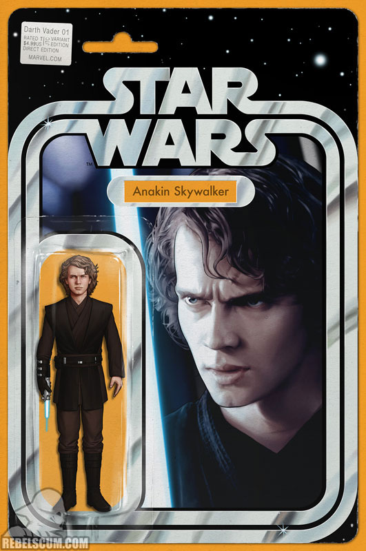 Darth Vader: Dark Lord of the Sith 1 (John Tyler Christopher Action Figure  variant)