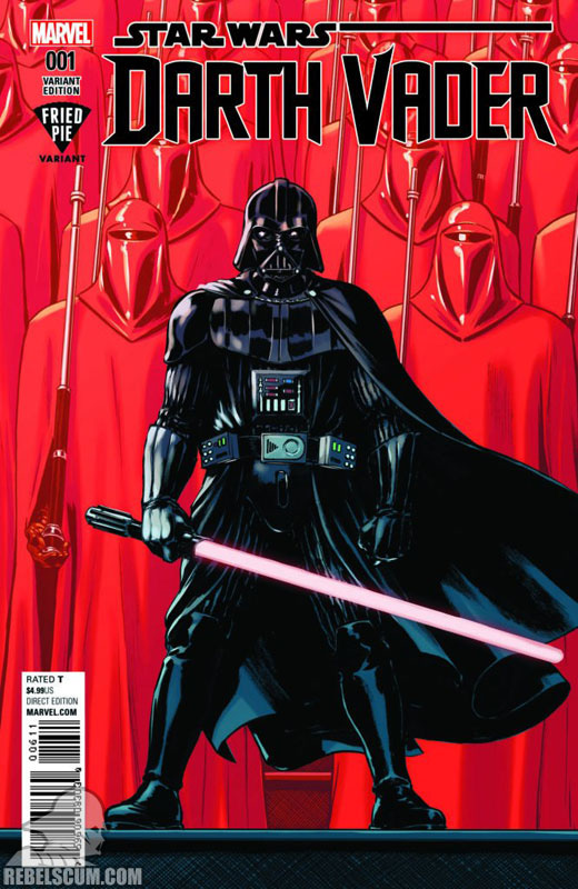 Darth Vader: Dark Lord of the Sith 1 (David Lopez Fried Pie variant)