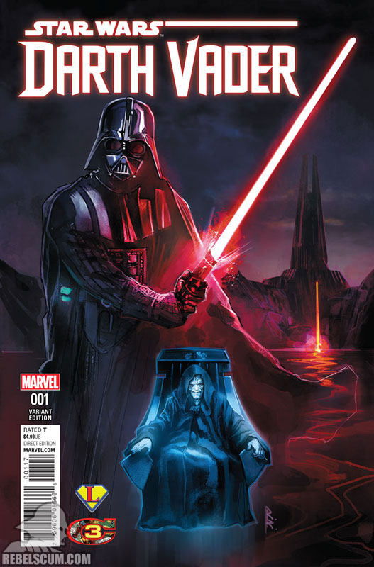 Darth Vader: Dark Lord of the Sith 1 (Rod Reis Legends Comics variant)