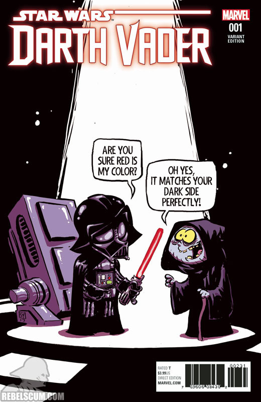 Darth Vader: Dark Lord of the Sith 1 (Skottie Young variant)