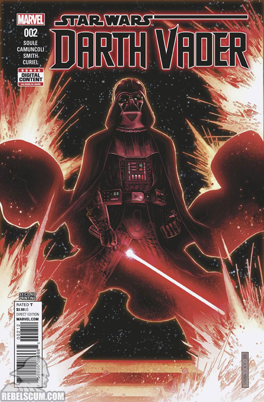 Darth Vader: Dark Lord of the Sith 2 (2nd printing - August 2017)