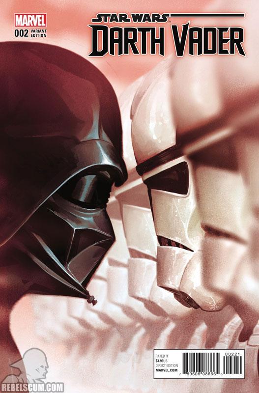 Darth Vader: Dark Lord of the Sith 2 (Mike del Mundo variant)