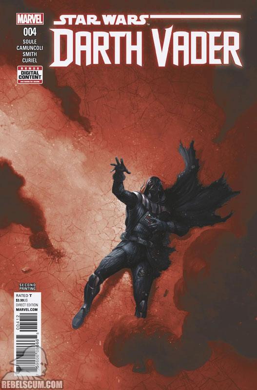 Darth Vader: Dark Lord of the Sith 4 (2nd printing - September 2017)
