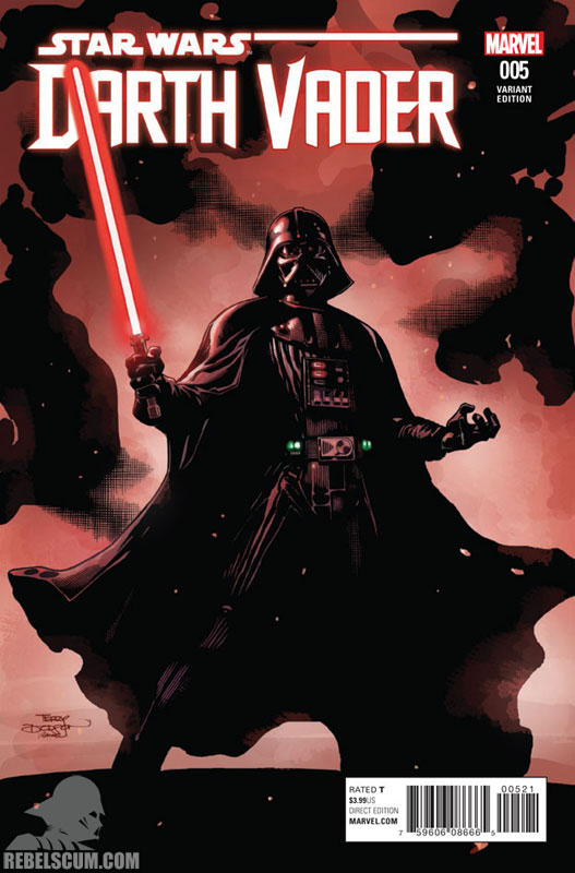 Darth Vader: Dark Lord of the Sith 5 (Terry Dodson variant)
