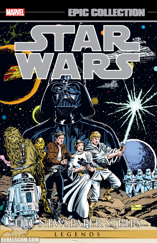 Star Wars Legends Epic Collection: The Newspaper Strips Trade Paperback #1
