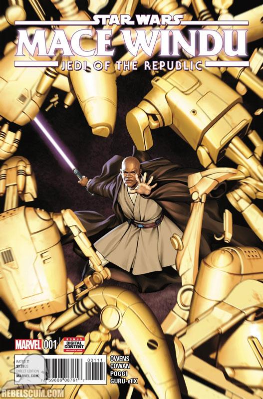 Jedi of the Republic – Mace Windu #1