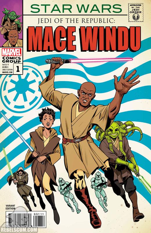 Mace Windu 1 (Javier Rodriguez Strange Tales 167 homage variant)