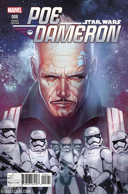 Poe Dameron 8 (Rod Reis variant)
