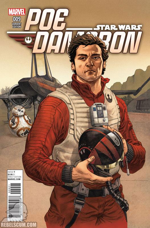 Poe Dameron 9 (Mike Hawthorne variant)