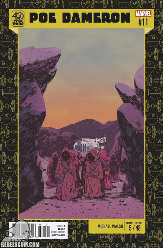 Poe Dameron 11 (Michael Walsh 40th Anniversary variant)