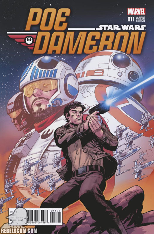 Poe Dameron 11 (Reilly Brown variant)
