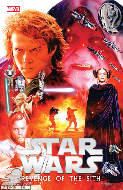 Episode III – Revenge of the Sith Original Graphic Novel Hardcover