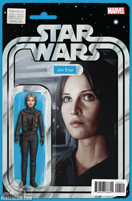 Rogue One 1 (John Tyler Christopher Action Figure  variant)