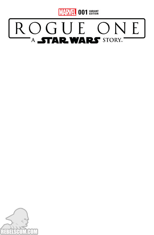 Rogue One 1 (Blank variant)