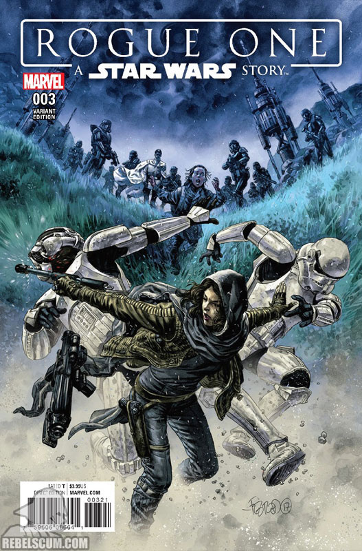 Rogue One 3 (Duncan Fegredo variant)