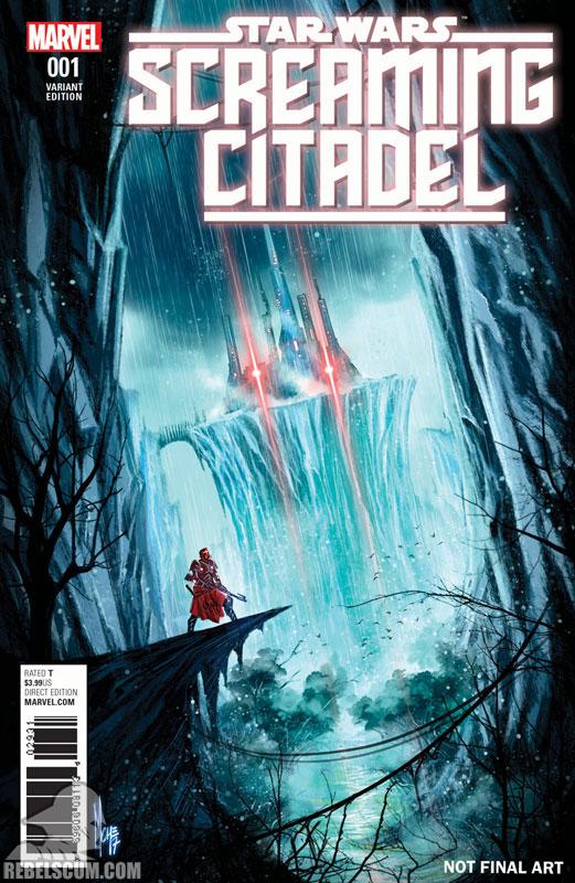 Screaming Citadel (Marco Checchetto World variant)