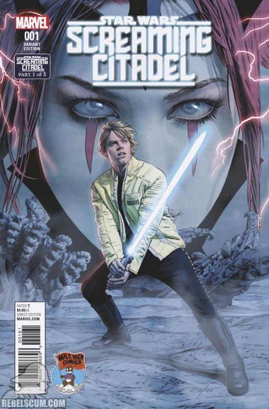 Screaming Citadel (Mike Mayhew Mile High Comics variant)
