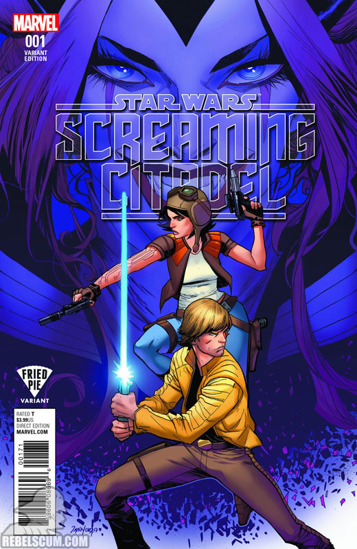 Screaming Citadel (Dan Mora Fried Pie Comics variant)