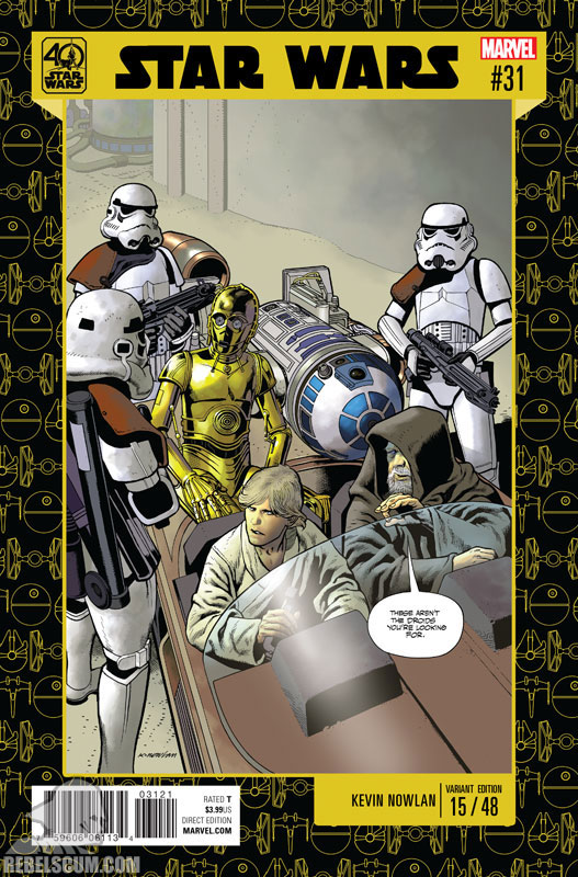 Star Wars 31 (Kevin Nowlan 40th Anniversary variant)