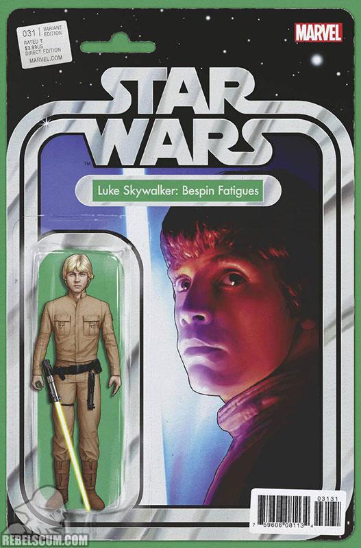Star Wars 31 (John Tyler Christopher Action Figure  variant)