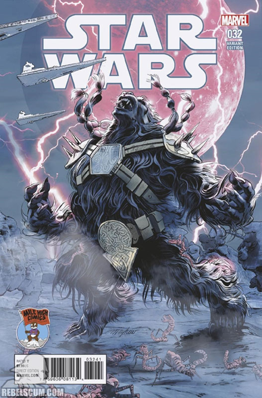 Star Wars 32 (Mike Mayhew Mile High Comics variant)