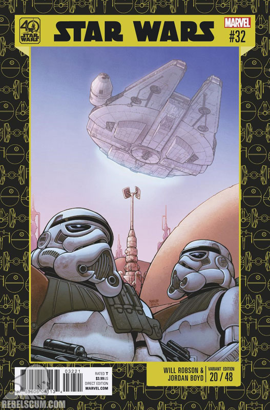 Star Wars 32 (Will Robson 40th Anniversary variant)
